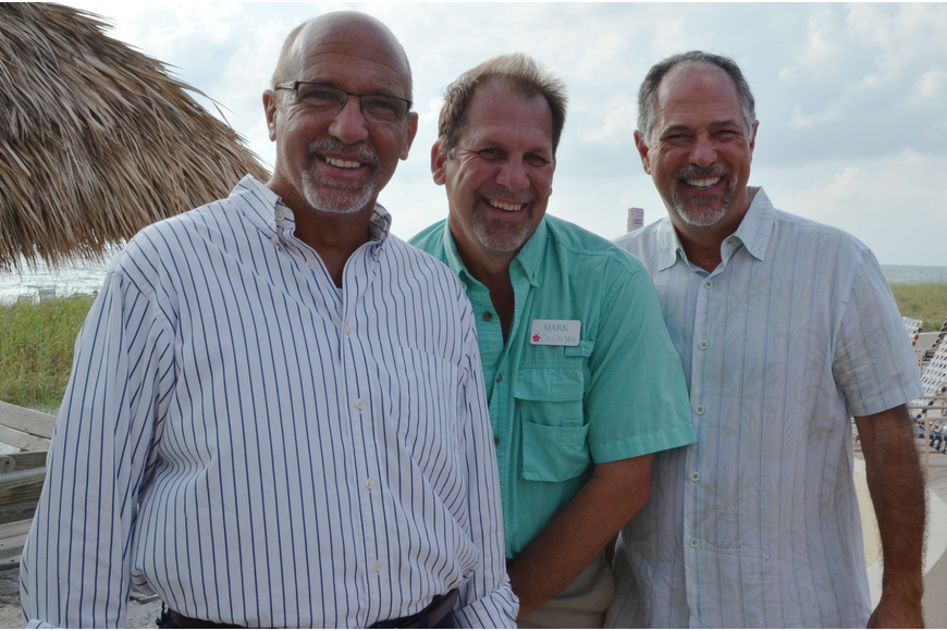 Richard Perlman, Mark Meador and CJ Coury