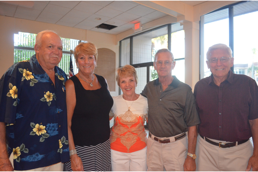 Herman and Beth Waldman, chair of the committee, Joyce and Bobby Mazurek and John Bock make up the Recreational Committee