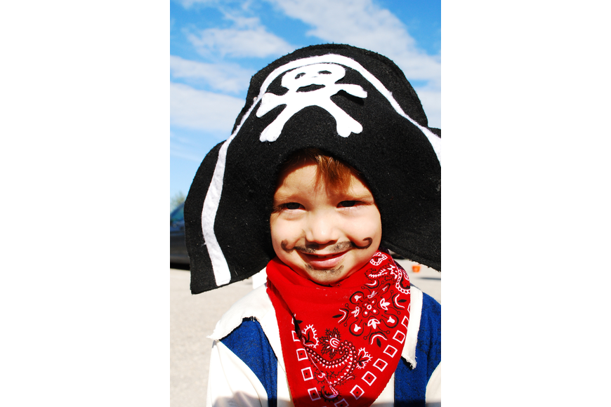 Jack Wells, 2, came as Capt. Jack Sparrow.