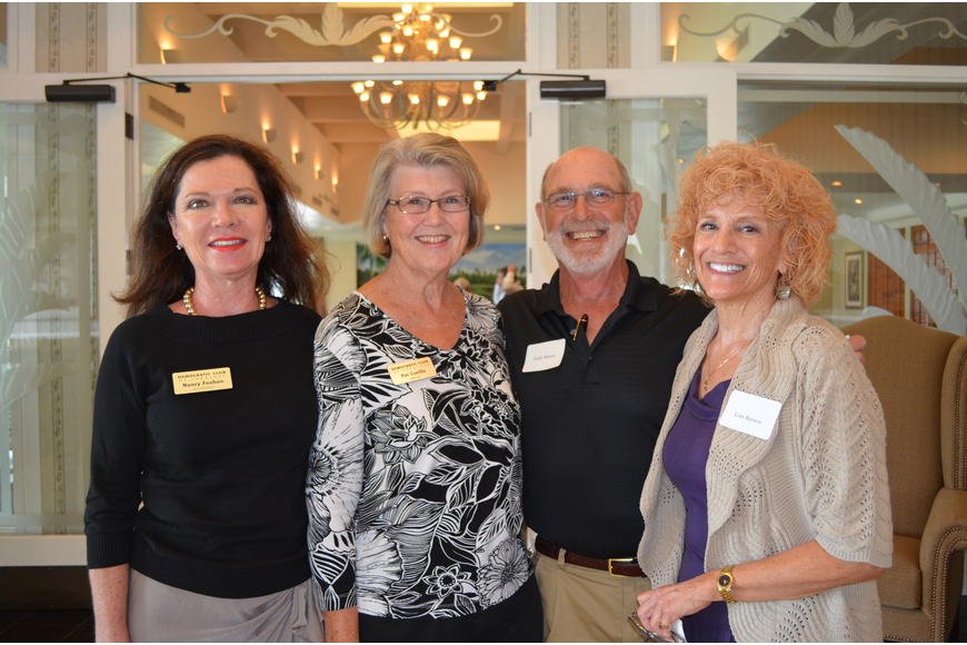 Nancy Feehan, Pat Coville, Andy Maass and Lois H. Barson