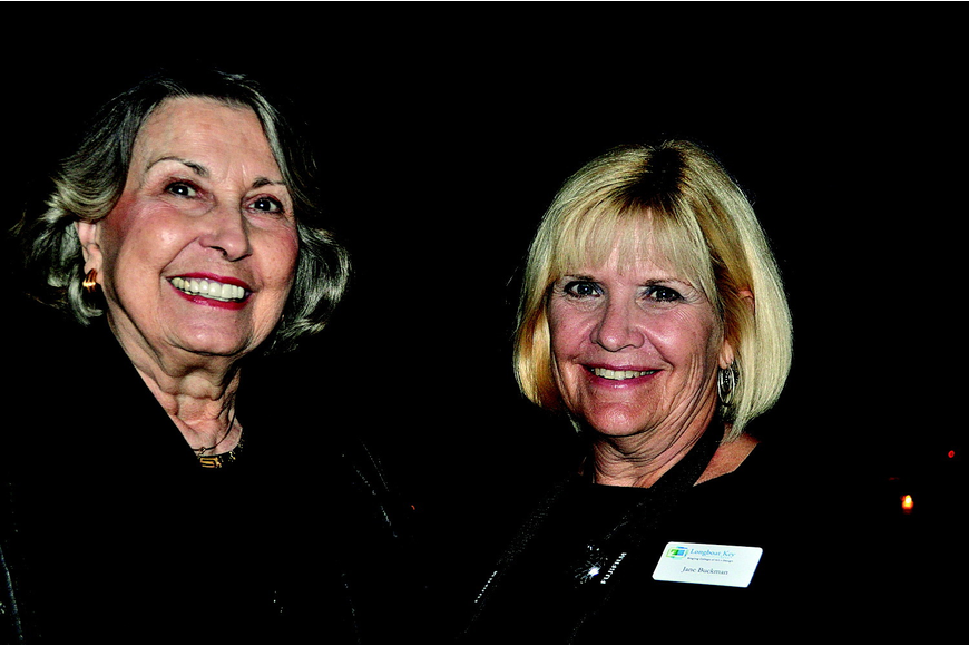 Pat Arends and Jane Buckman