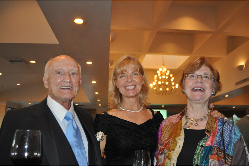 Charles Alexander, Connie Gill and Linda Alexander