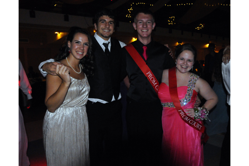 Nicole Tira and her boyfriend Tyler Marshall celebrated Prom with Alex Middleton and his girlfriend Alyssa McGregor.