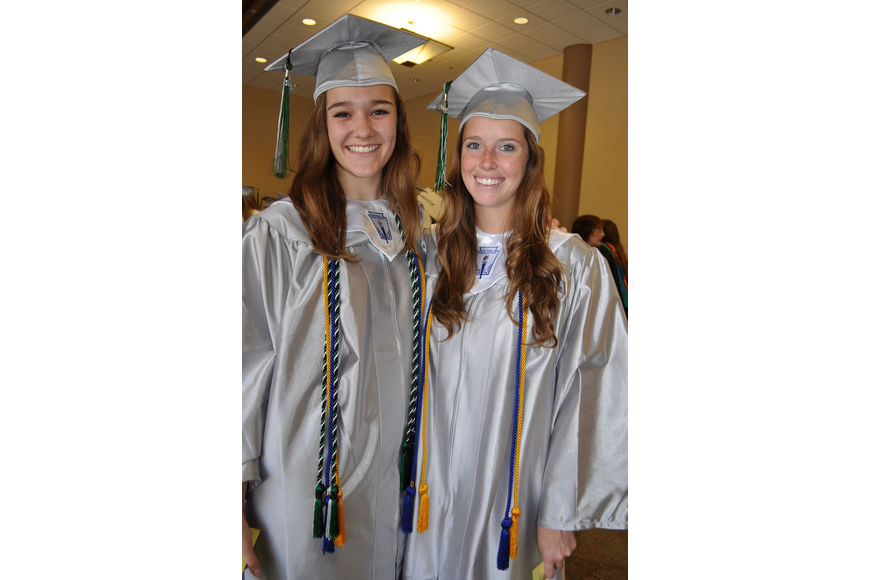 Audrey Reinisch and Jordyn Middlebrooks, of Lakewood Ranch High, will both attend the University of Florida.
