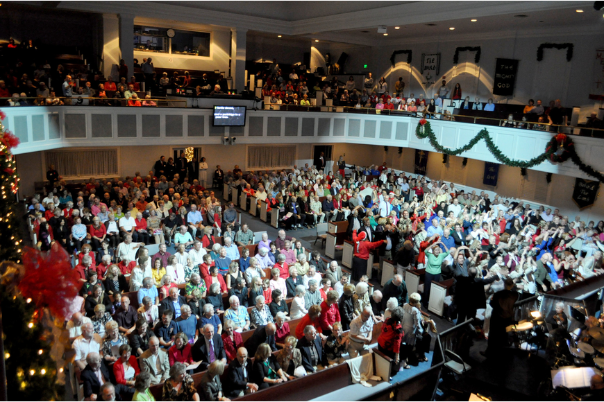"Each year, the audience participates in an interactive rendition of ""The 12 Days of Christmas."""