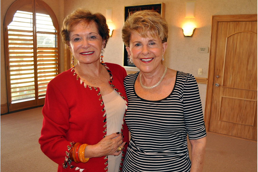 Joyce Cooper and Renee Sheade