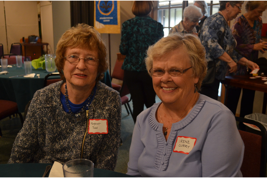 Margaret Todd and Irene Curry are old friends from Indiana and members of the Siesta Key Presbyterian Women's group.