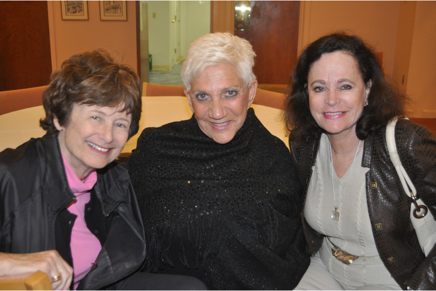 Sheila Olin, Lillian Sands and Nancy Seder