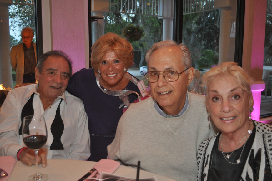 Bill and Linda Federici with Bruce and Toby Lee