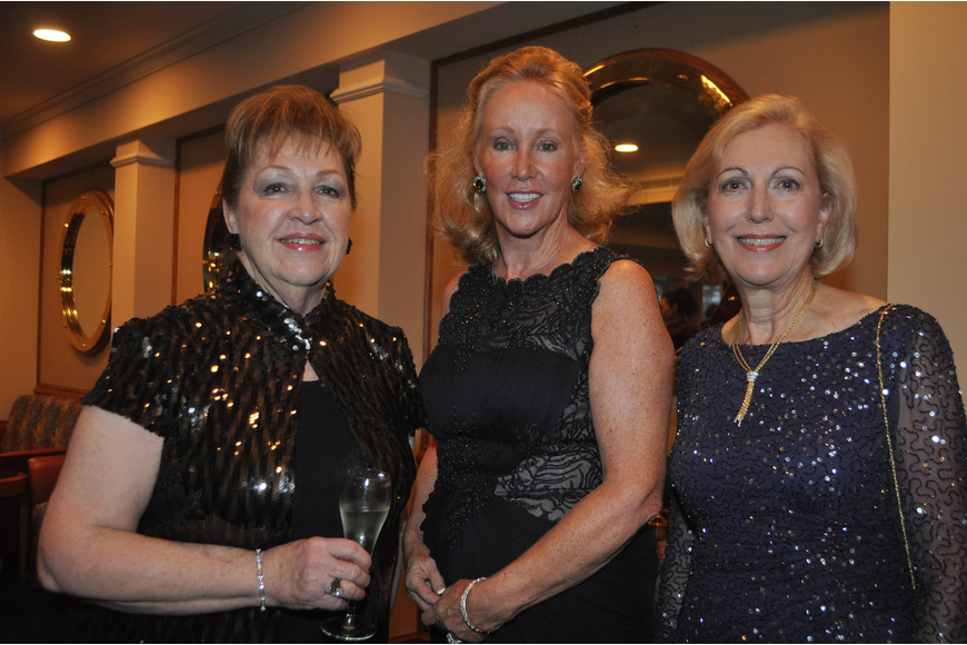 Kathleen Powell, Katie Cornell and Linda Brink