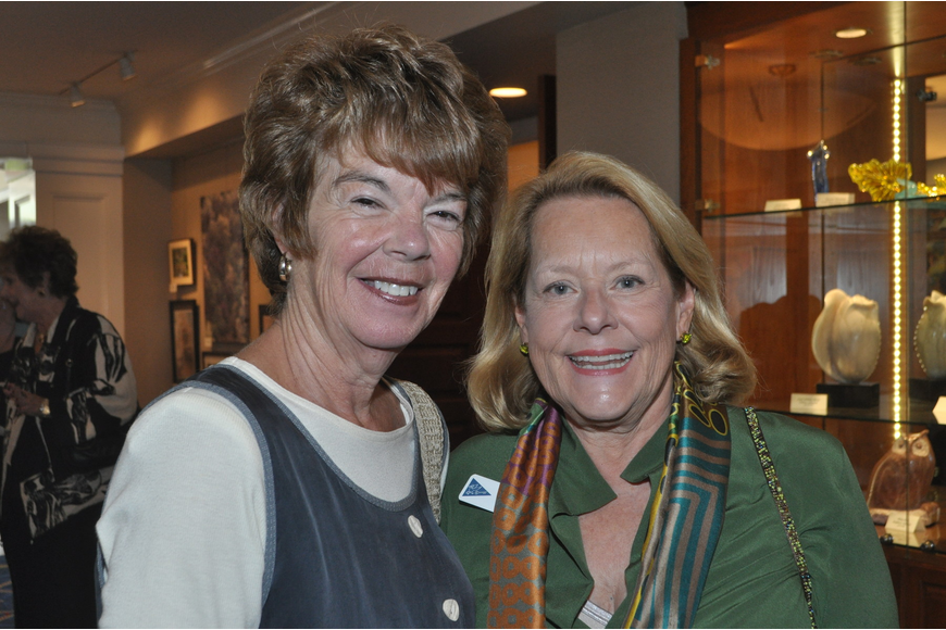 Sisters-in-law Sue Tesdahl and Judy Shank