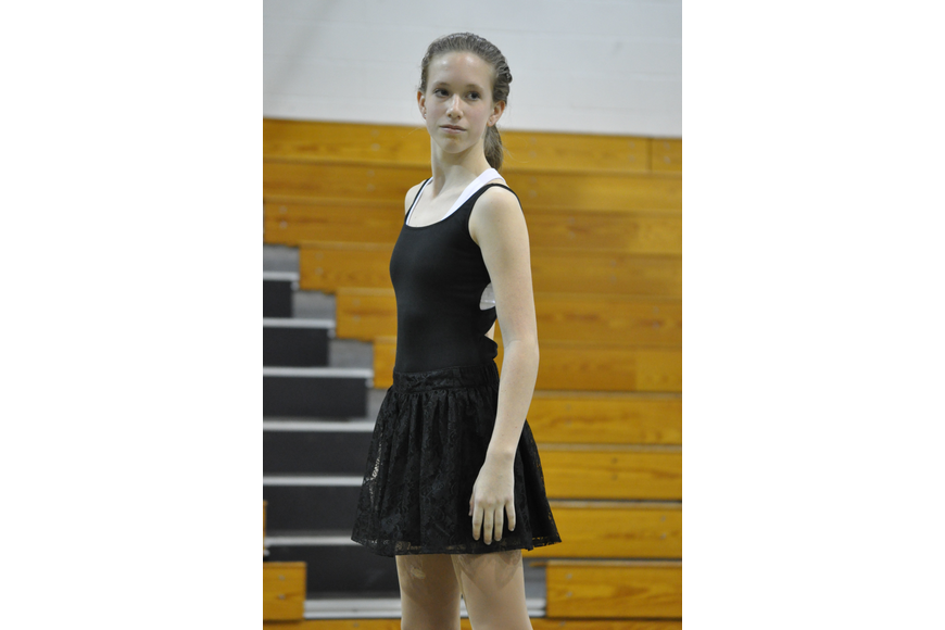 Jamie Newby performed a solo routine.