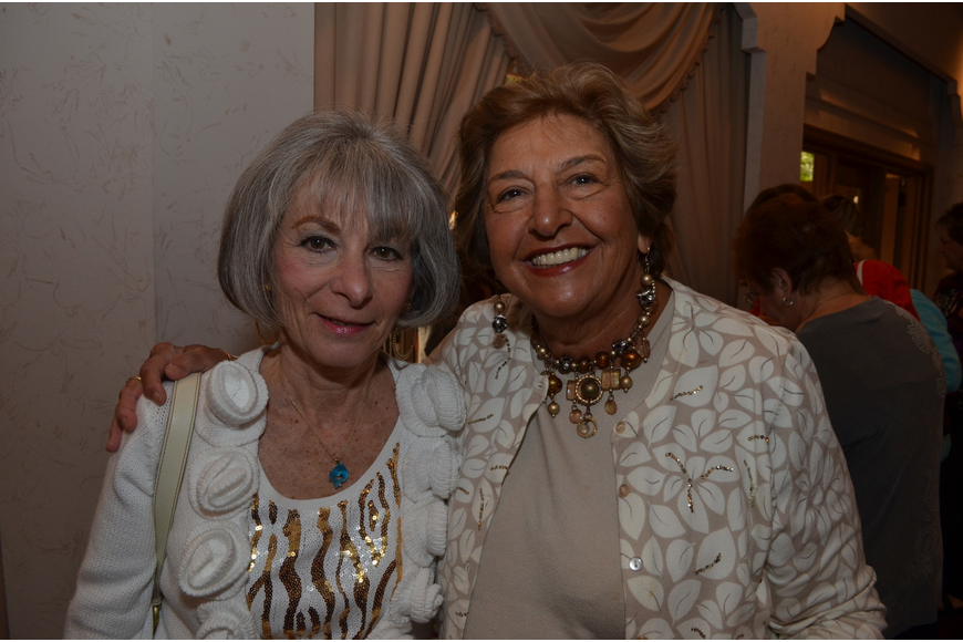 Carol Alessandro and Joyce Simon