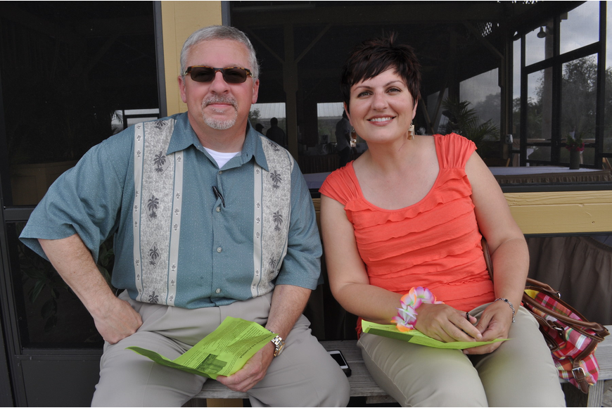Carl Marks and Gina Dengler attended their first polo match to support The University of Texas MD Anderson Cancer Center.