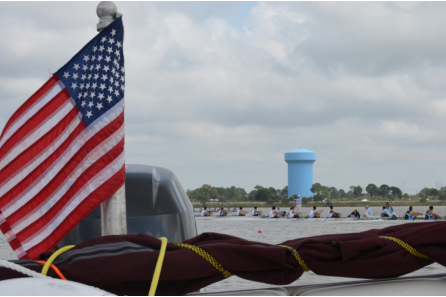 This was the first time the Sarasota Invitational Regatta was held at the new Regatta Island.