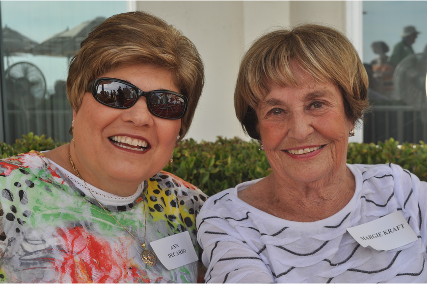 Ann DeCarbo and Margie Kraft