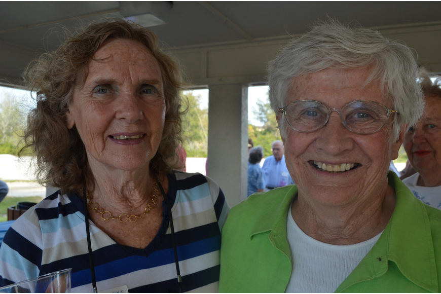 Carol Von Allmen and Mary Neuhauser