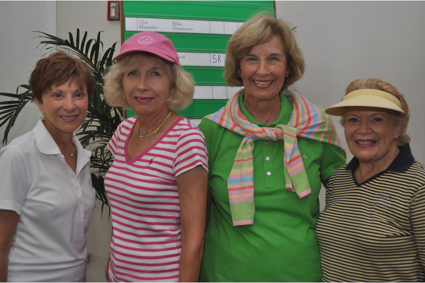 Betty Goree, Pat Lonsdale, Lyn Kayser and Joan Biller