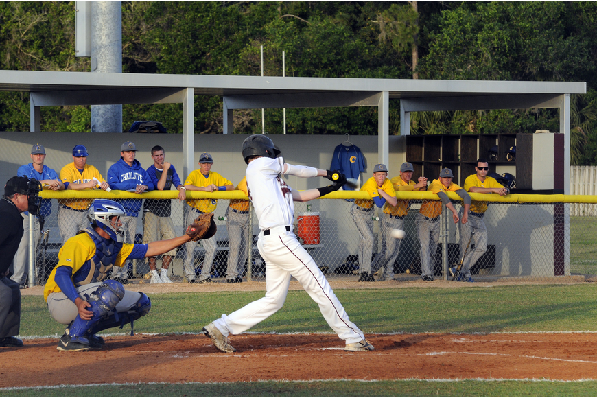 Ryan Dyson drove in a run in the bottom of the first inning.