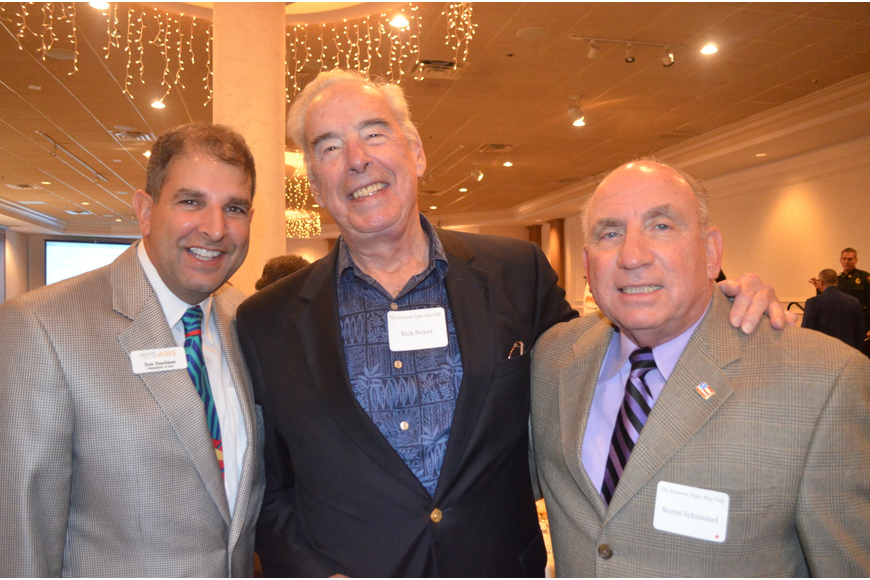 Tom Esselman, Rick Noyes and Norm Schimmel