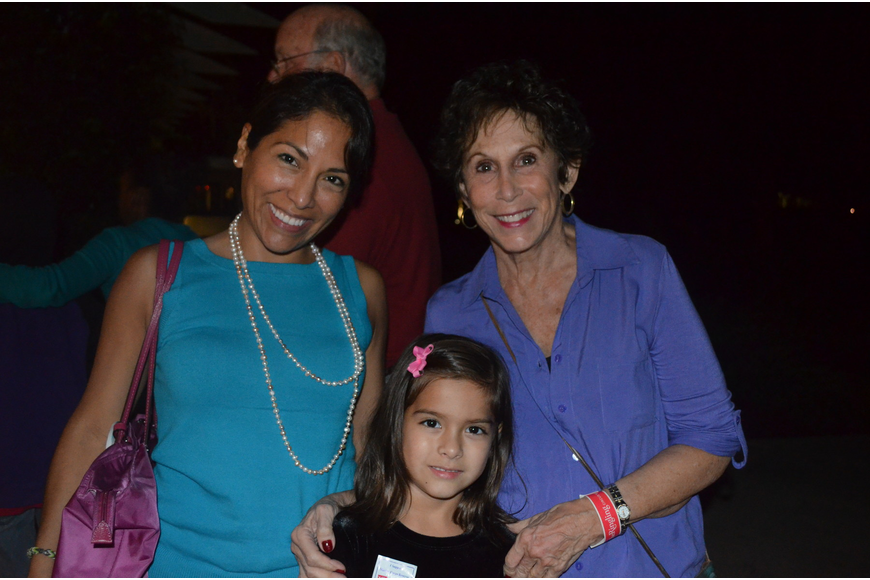 Mila Cotera and Sherry Simons were there to support Camille Kesling who played the violin