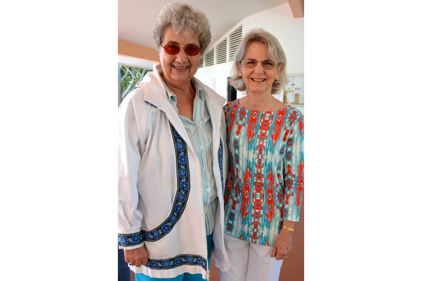 Marcy Gobell and Marilyn Watsey