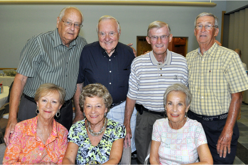 Joe Barbera, John and Pat Brouder, Agnus and Bill Forcht and Betty and Jack Keelin