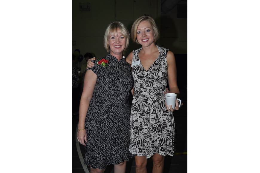 Veronica Brady and Kelly Morrell of the Gulf Coast Community Foundation