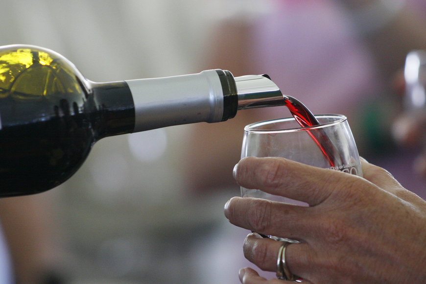 This year's festival featured more than 300 wines.