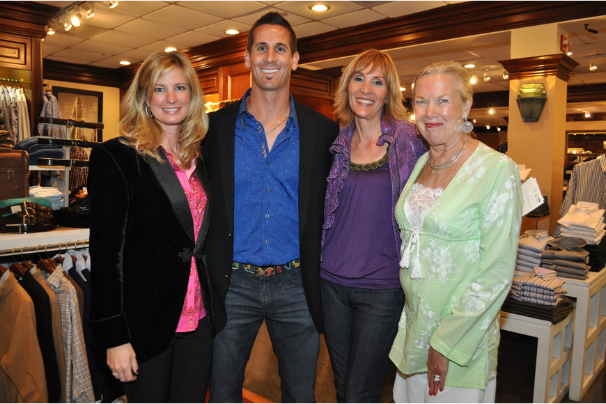 Brenda Michel, Grant Balfour, Heather Smith and Rebecca Northington