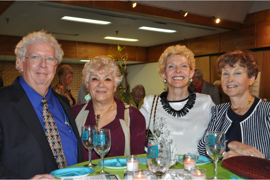 Fred Bigio, Pat Spinelli, Marcella Schuyler and Carol Kreit