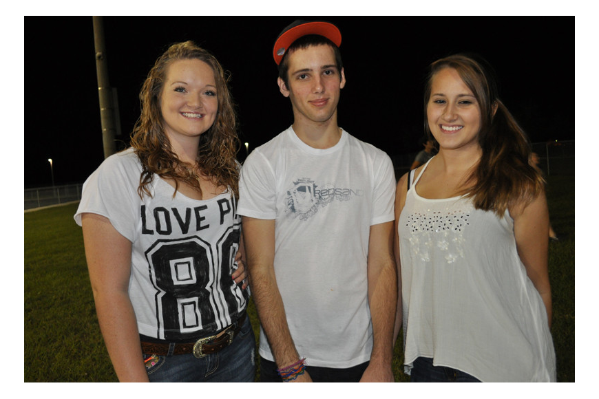 Casey Crosby, Tyler DiCarlo and Amber Winterbottom