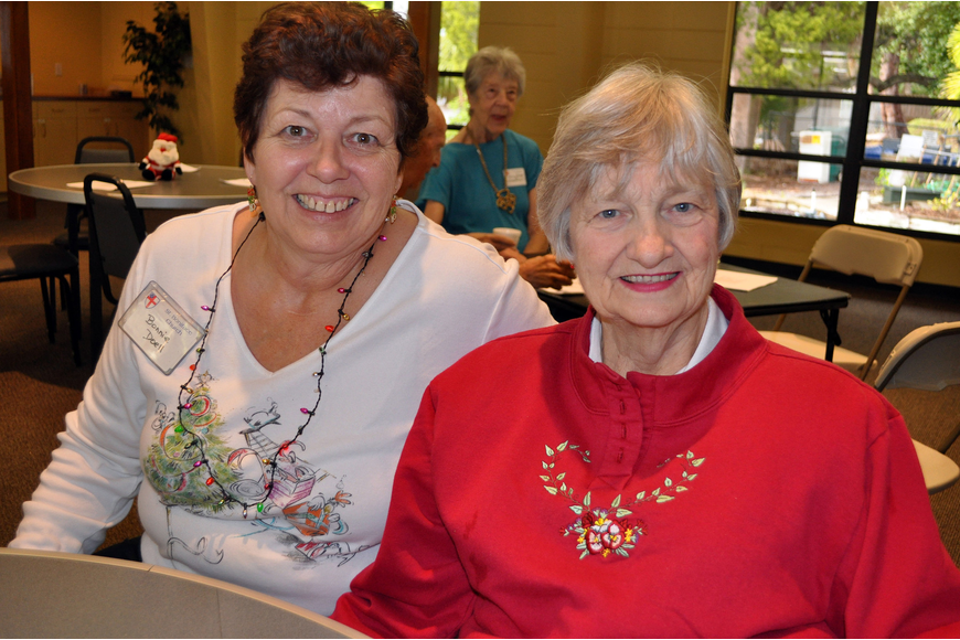 Bonnie Doell and Betty Hazard