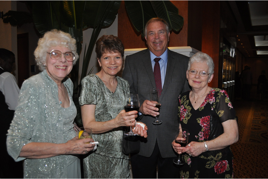 Ruth Mohlenhoff, Jackie and Joe Whalen and Joan Birchem