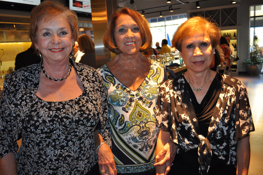 Suzy Machamer, Dixie Mitchell and Judy Hartman came from out of town.