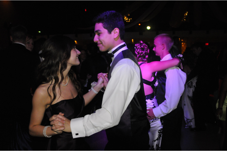 Jose Solis and his date Carolina Martinez showed off their dance moves.