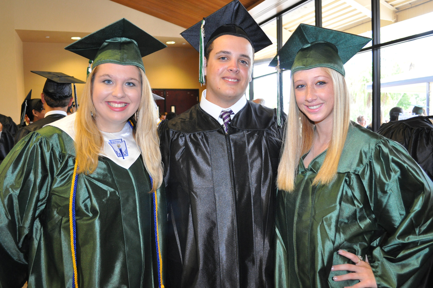 Shelby Sielaff, Jacob Botsford and Katie Barg