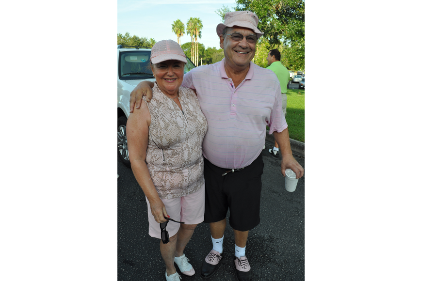Waterlefe Golf & River Club residents Joyce and Alvin Goldstein were eager to hit the course.