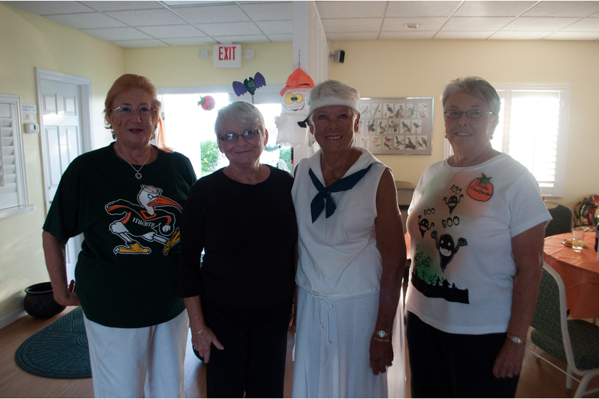 Beverly Root, Vickie Ginter, Jane Oaks and Linda Goodpaster