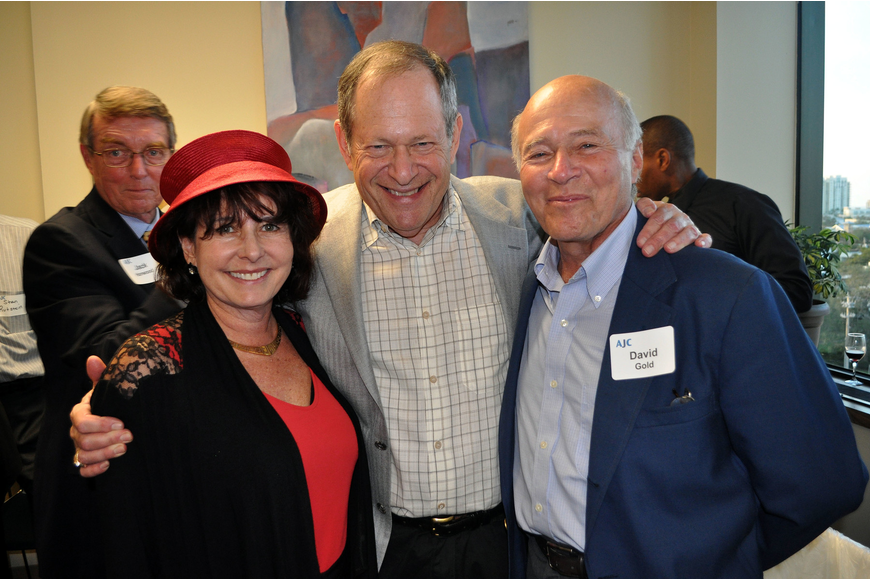 Nancy Gold, Dr. Ken Newmark and David Gold