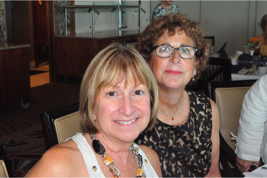 Judi Adler and Alice Fishman