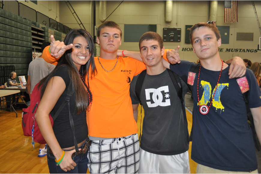 Juliana Cardenas, Jordan Rogers, Michael Kelly and Chase Pendley