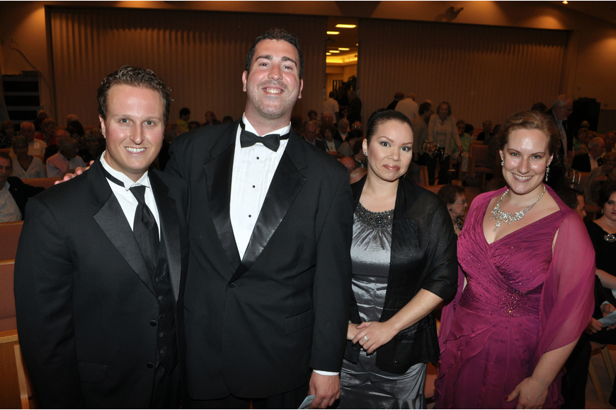 Eric Bowden, Will Roberts, Leah Dexter and Jenny Townsend