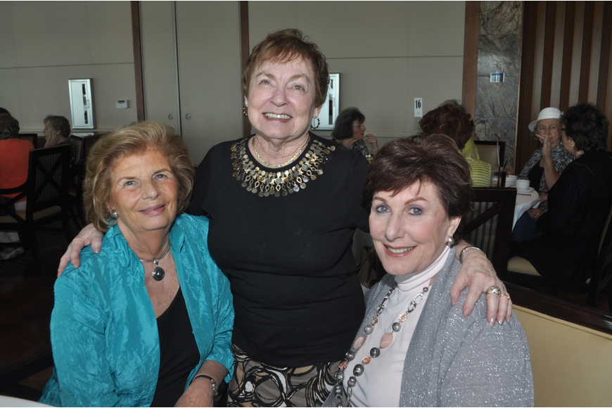 Gandi Pease, Joan Spittal and Arlene McBride