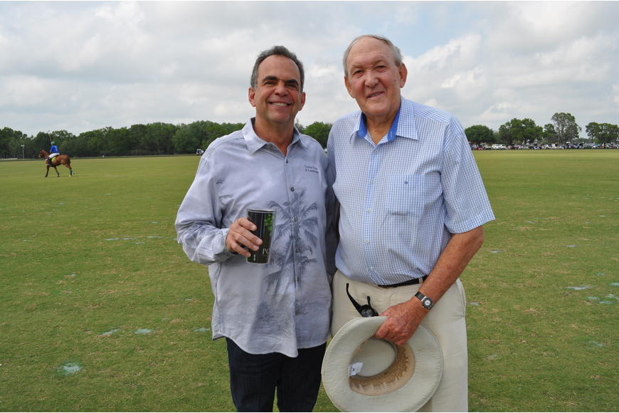 Darrell Turner and John Clarke, the former CEO of Schroeder Manatee Ranch