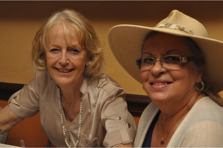 Marlene de Vazeille and Mary Ann Clarke