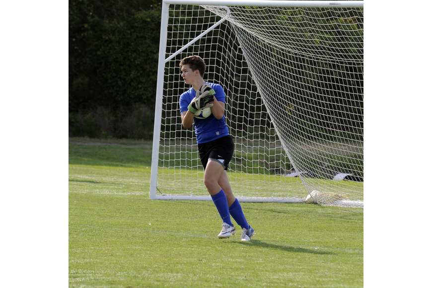 Braden River High junior Katarina Elliott plays goalkeeper for the Clearwater Chargers Elite U17 team.
