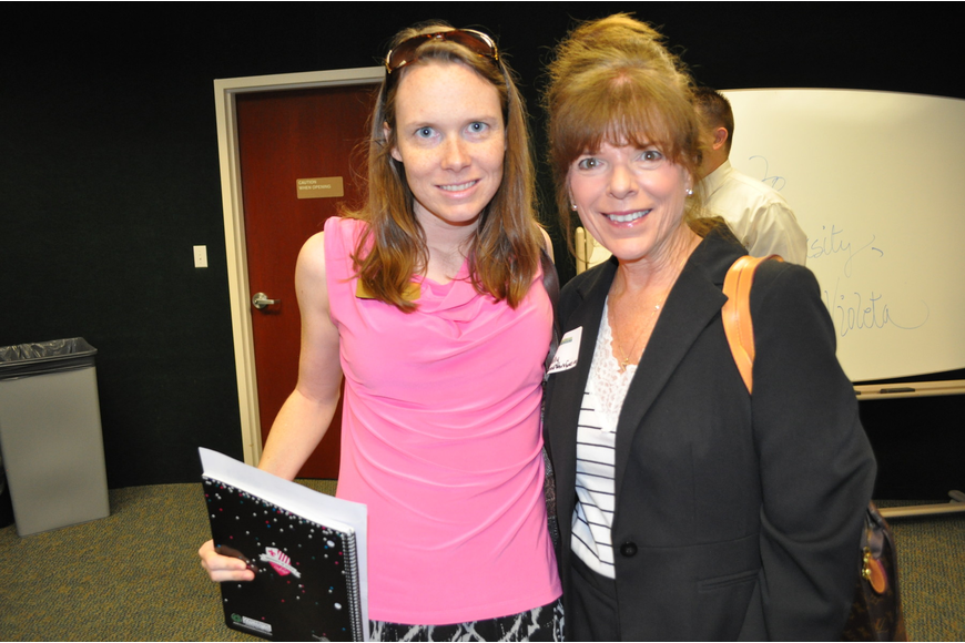Peggy O'Connor and Sally Hill of Suncoast Workforce