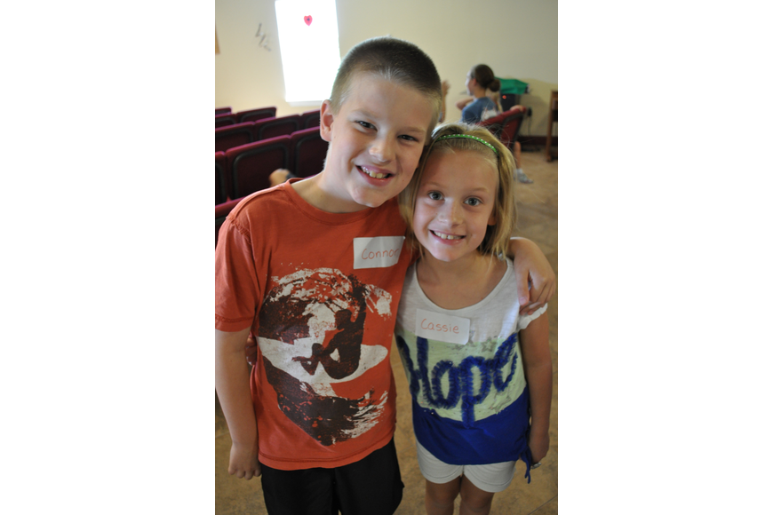 Connor and Cassie Shilling attend Gene Witt Elementary.
