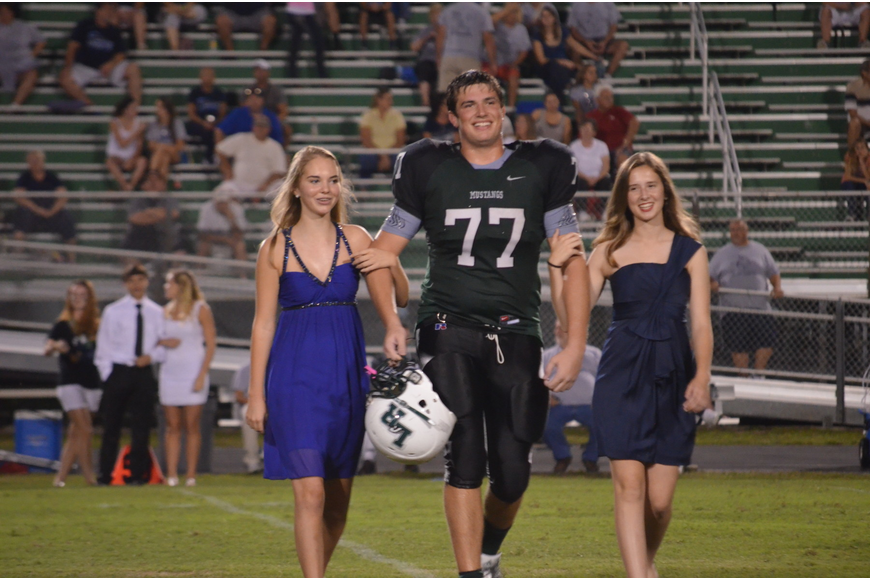 Sophomores Rachel Nees, Gabriel Overmyer and Caitlyn Duffy